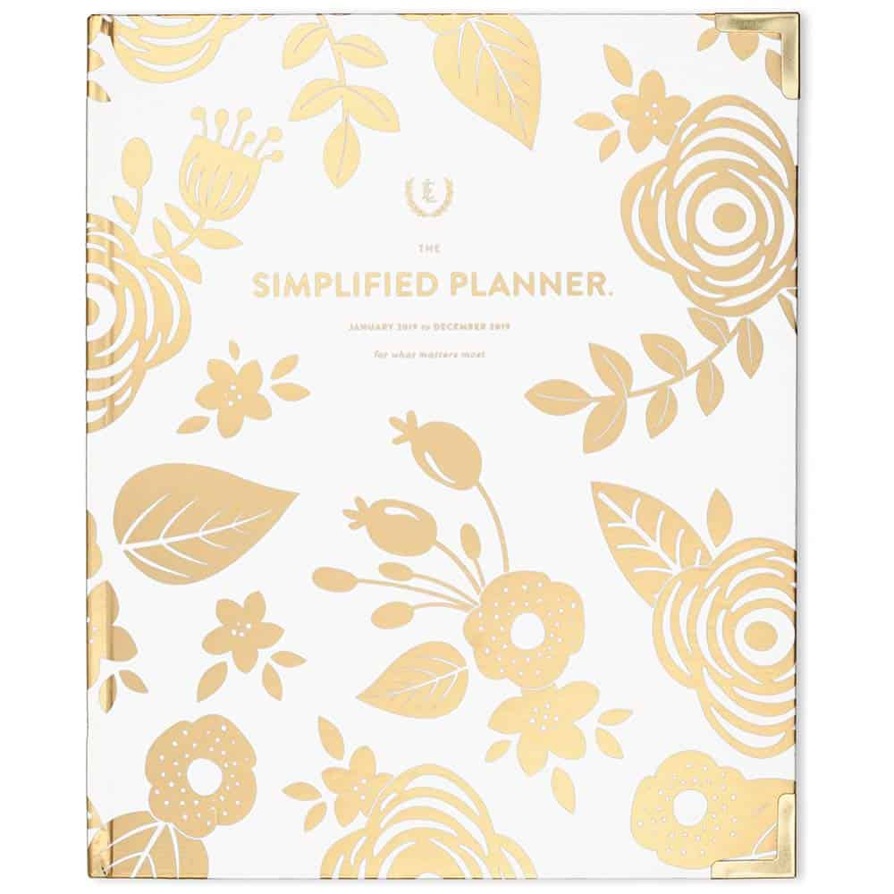 2019 Weekly Simplified Planner