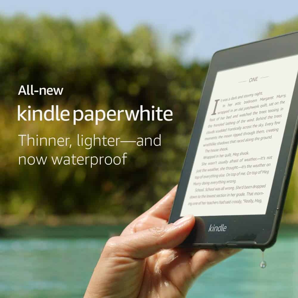 Kindle Paperwhite – Now Waterproof with 2x the Storage (International Version)