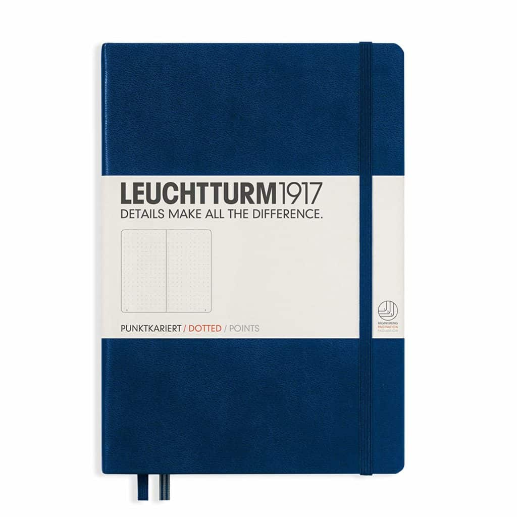 Leuchtturm1917 Hard Cover Medium A5 Dotted Notebook